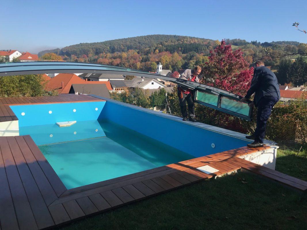 Faszinierend Eingebauter Pool Sammlung Von Vieleck Flat 8,4 X 5,15 Meter