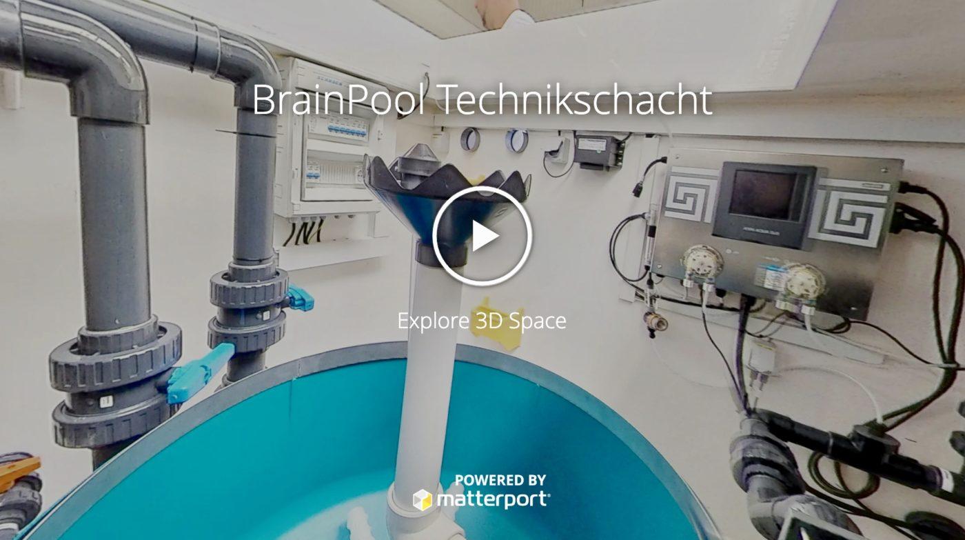 Technikschacht im BrainPool Werk Polypropylen
