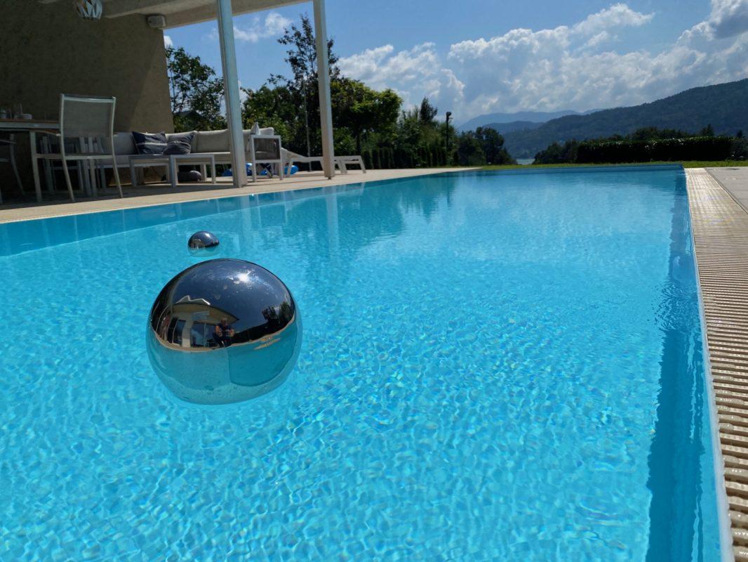 Weisses Pool von BrainPool Skimmer oder Überlauf aus Polypropylen